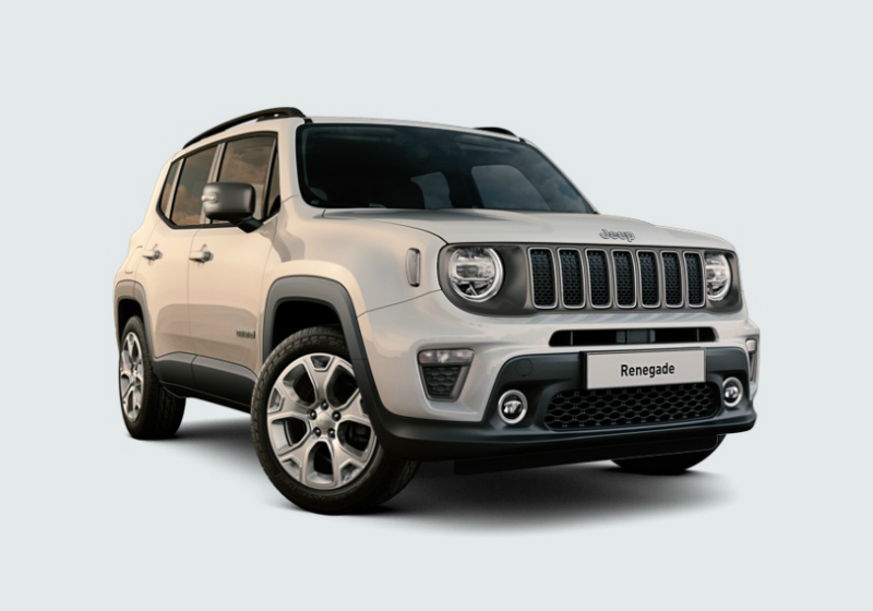 JEEP Renegade 1.0 T3 Limited MY19 Alpine White Km 0 0JJTG-a