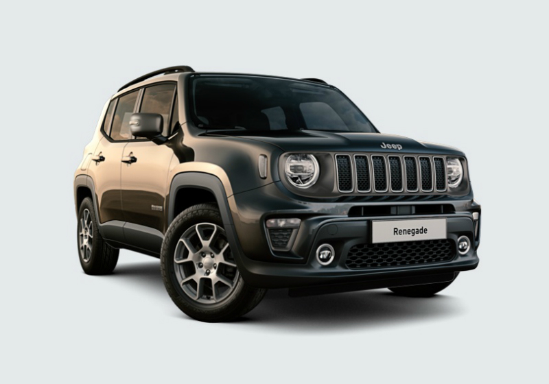 JEEP Renegade 1.0 T3 Limited MY19 Carbon Black Km 0 L92HP-a