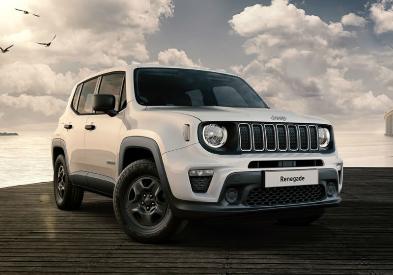 JEEP Renegade 1.0 T3 Sport MY19 Alpine White Km 0 0D7GP-1