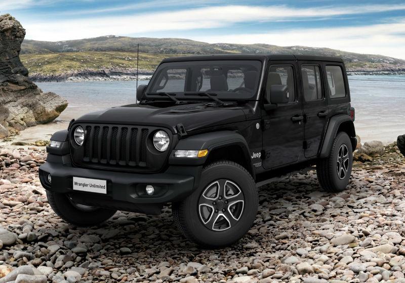 JEEP Wrangler Unlimited 2.2 Mjt II Sport auto Black Km 0 5L0BCL5-a