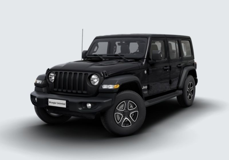 JEEP Wrangler Unlimited 2.2 Mjt II Sport auto Black Km 0 Y5X0X5Y-30142_esterno_lato_1