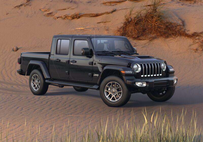 JEEP Gladiator 3.0 V6 Overland Black Clear Coat Km 0 DF0C4FD-a