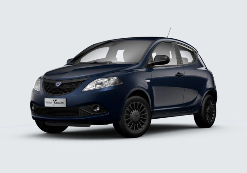 LANCIA Ypsilon 1.2 69 CV 5 porte S&S Black and Noir Blu di Blu Km 0 GB0BUBG-58408_esterno_lato_1