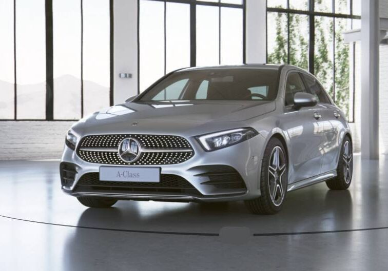 MERCEDES Classe A 200 d Premium auto Argento Iridio Km 0 SQ0B8QS-Schermata%202020-12-18%20alle%2018