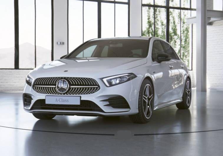MERCEDES Classe A 250 e eq-power Premium auto Bianco Polare Km 0 8B0BUB8-Schermata%202021-01-12%20alle%2011