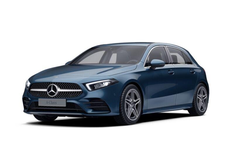 MERCEDES Classe A A 180 d Premium auto Blue Denim Km 0 8M0CGM8-iris-4--v1
