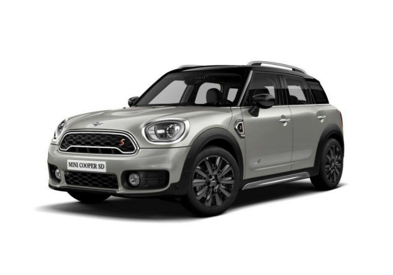 MINI Countryman 2.0 Cooper SD Hype ALL4 Automatica Melting Silver  Km 0 XBX0XBX-a