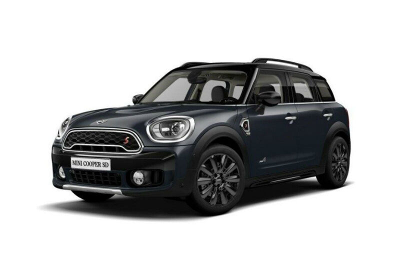 MINI Countryman 2.0 Cooper SD Hype ALL4 Automatica Thunder Grey Km 0 D80B28D-a