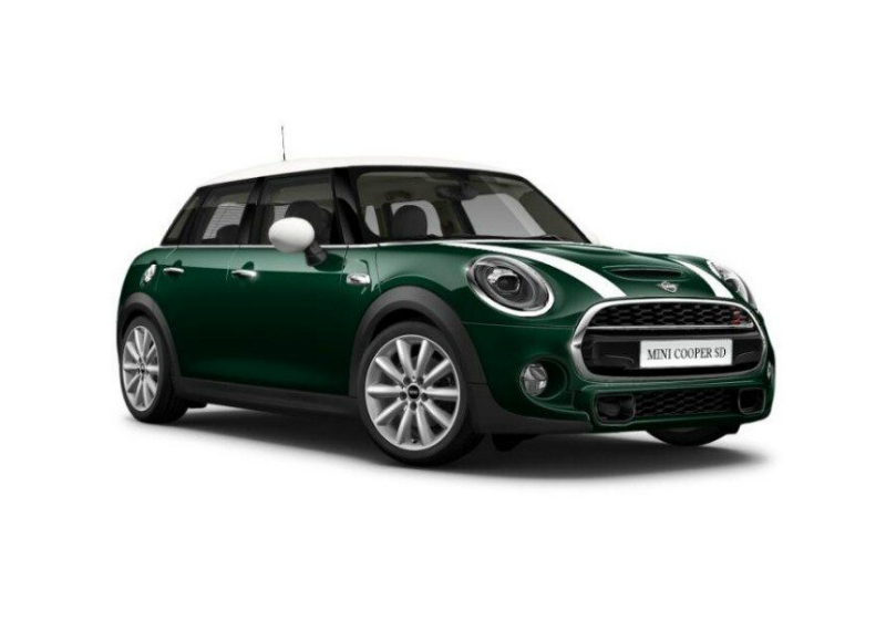 MINI Cooper 2.0 SD aut. Hype 5p British racing Green Da immatricolare M9W0W9M-a