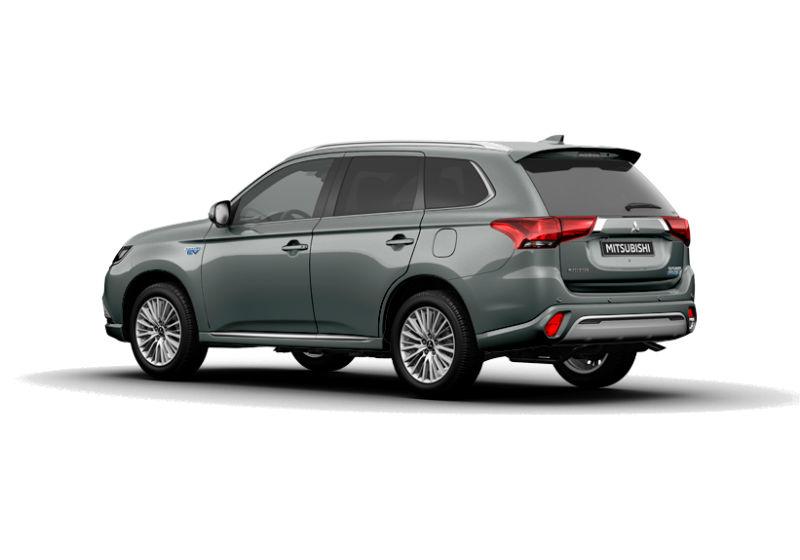 MITSUBISHI Outlander 2.4 MIVEC 4WD PHEV Diamond SDA Titanium Grey Da immatricolare 3OQ6Y-b