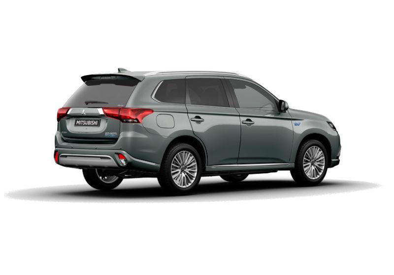 MITSUBISHI Outlander 2.4 MIVEC 4WD PHEV Diamond SDA Titanium Grey Da immatricolare 3OQ6Y-c