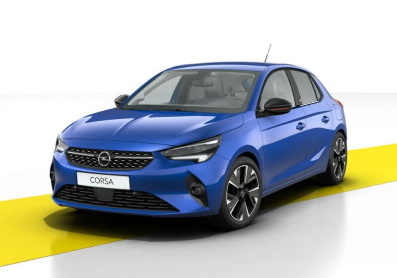 OPEL Corsa-e 5 porte Elegance Voltaic  Blue Km 0 D60B66D-a