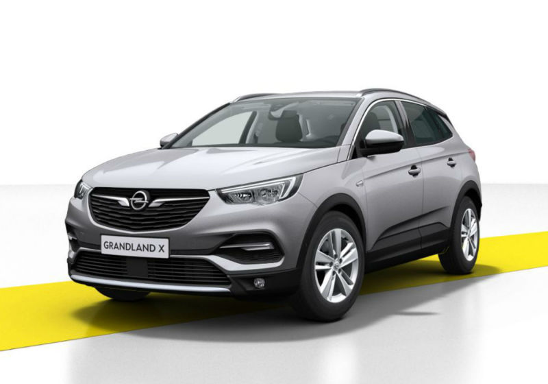 OPEL Grandland X 1.2 Turbo 12V 130 CV aut. Innovation Quartz Grey Km 0 KD0BADK-a