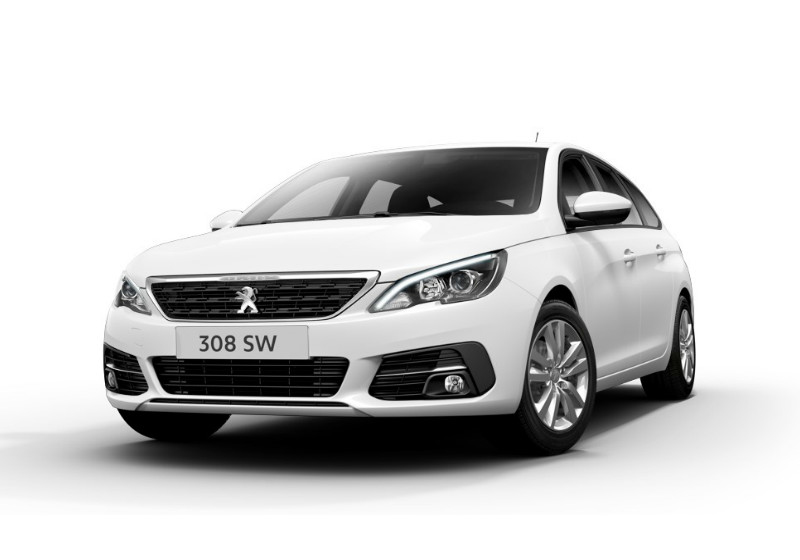 PEUGEOT 308 BlueHDi 130 EAT8 S&S SW Active Bianco Banchisa Km 0 5BGFR-1