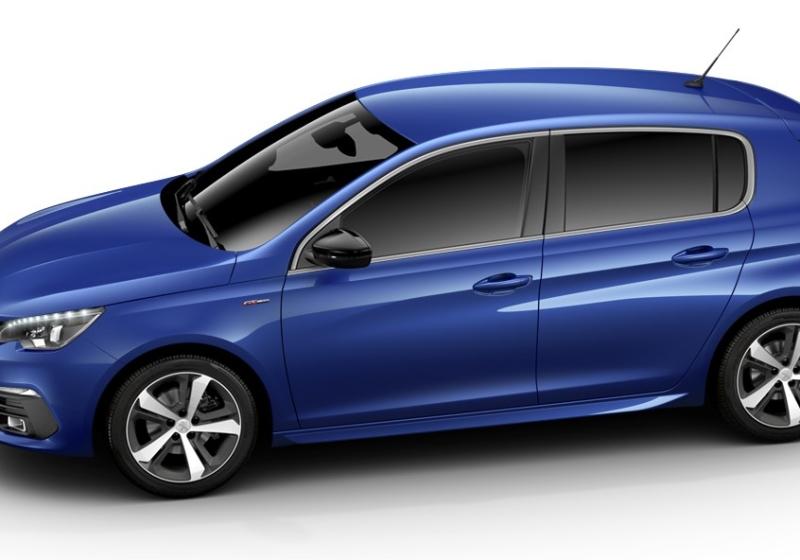 PEUGEOT 308 BlueHDi 130 EAT8 S&S GT Line Blu Magnetik Km 0 96MNO-b