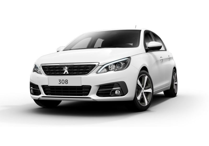 PEUGEOT 308 BlueHDi 130 EAT8 S&S Active Bianco Banchisa Km 0 PH0BEHP-a