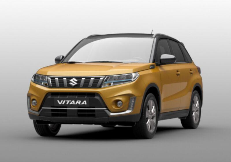 SUZUKI Vitara 1.4 Hybrid 4WD Allgrip Cool Giallo Tibet Da immatricolare 5P0BNP5-aa