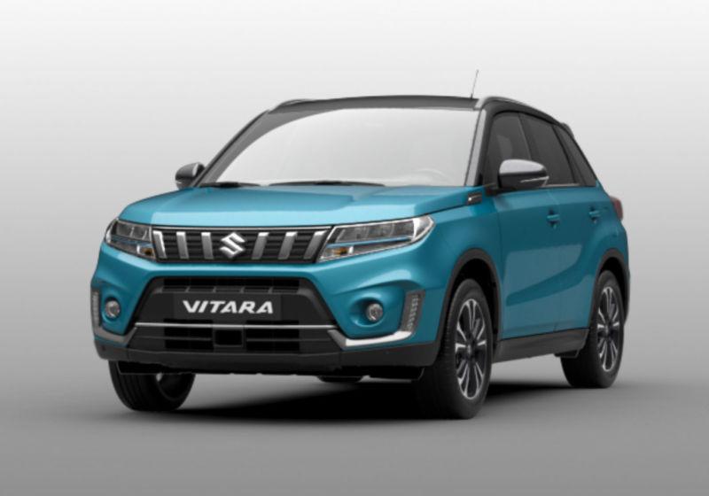 SUZUKI Vitara 1.4 Hybrid 4WD Allgrip Starview Turchese Caraibi Rottamazione 750BG57-a
