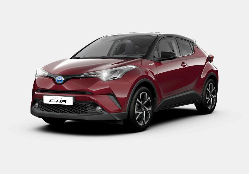 TOYOTA C-HR 1.8 Hybrid E-CVT Trend Red Mica Km 0 A6A0M-a