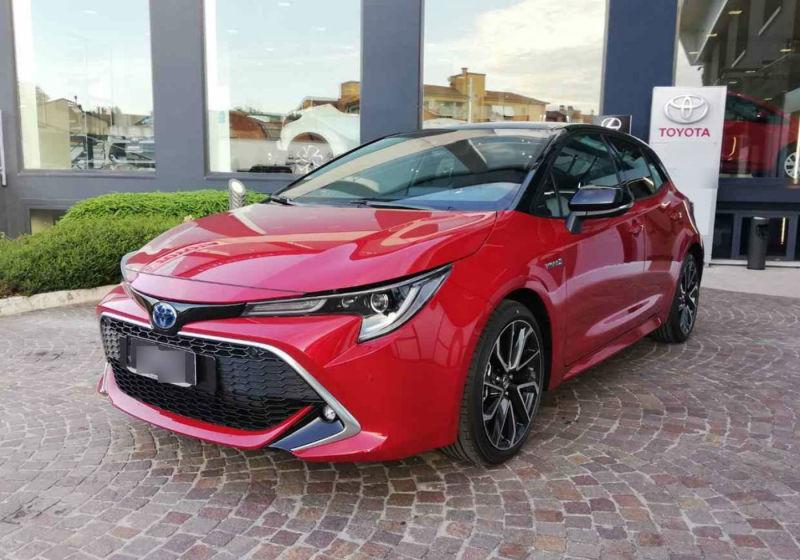 TOYOTA Corolla 2.0 Hybrid Lounge Emotional Red&Black Km 0 ZT0BCTZ-a