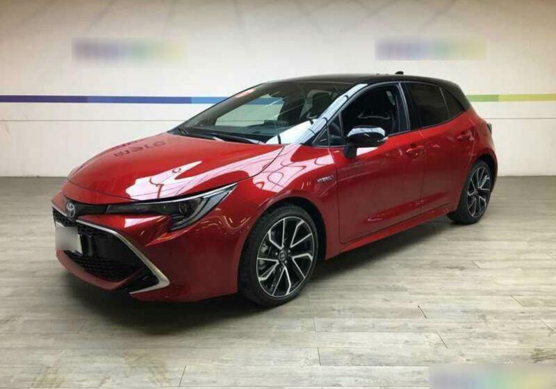 TOYOTA Corolla 2.0 Hybrid Lounge Emotional Red&Black Usato Garantito MU0B4UM-a