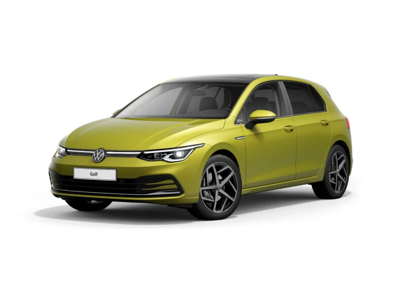 VOLKSWAGEN Golf 1.5 TSI EVO ACT Style Lime Yellow Km 0 LB0BPBL-a