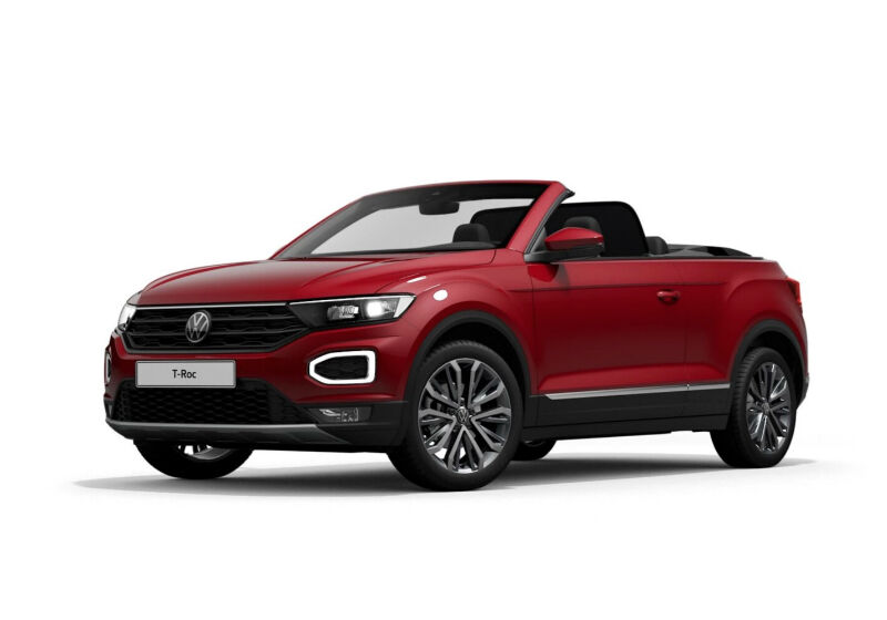 VOLKSWAGEN T-Roc Cabriolet 1.5 TSI ACT DSG Style King Red Km 0 9Q0BPQ9-a