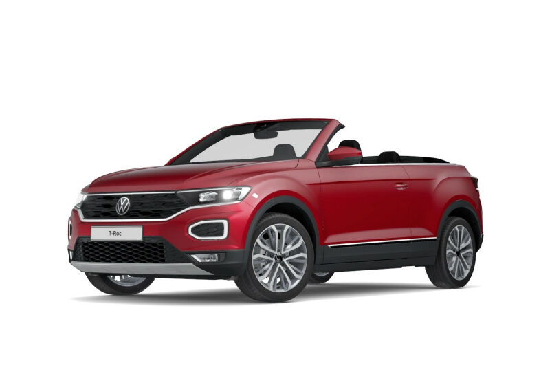 VOLKSWAGEN T-Roc Cabriolet 1.5 TSI ACT DSG Style King Red Km 0 Y70B87Y-a