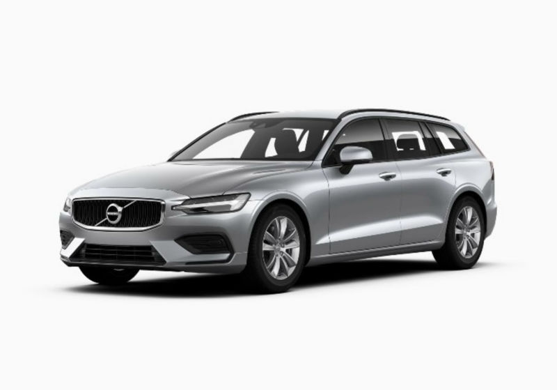 VOLVO v60 D3 Geartronic Business Plus Silver Bright Km 0 7Q0BEQ7-a