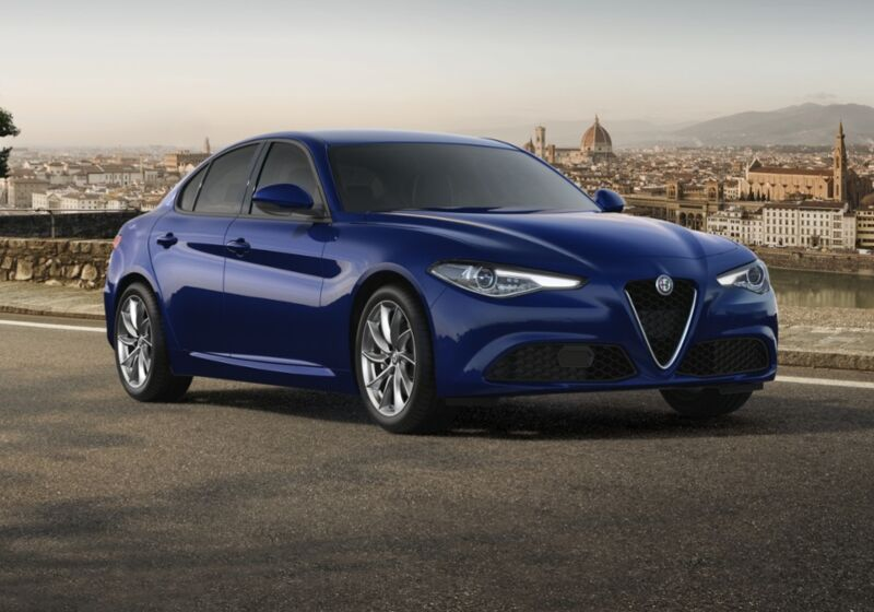 ALFA ROMEO Giulia 2.2 t Executive 160cv auto Blu Montecarlo Km 0 BT0CDTB-70401_esterno_lato_1