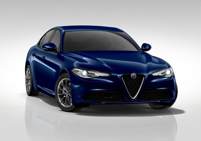 ALFA ROMEO Giulia 2.2 Turbodiesel 136 CV AT8 Business Blu Montecarlo Km 0 UC909CU-a