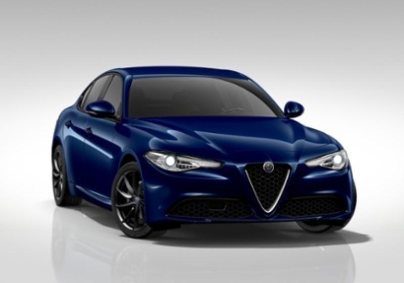 ALFA ROMEO Giulia 2.2 Turbodiesel 150 CV AT8 Tech Edition Blu Montecarlo Km 0 4JXK9-23357_esterno_lato_1