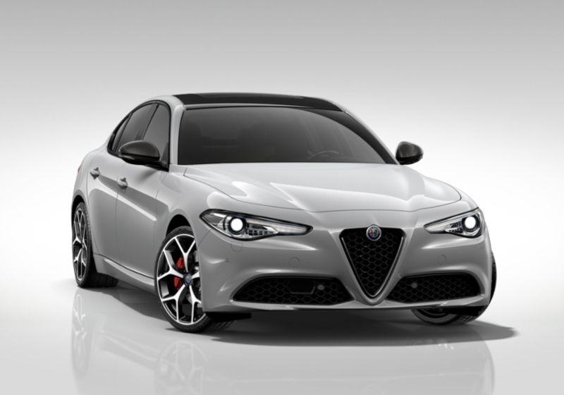 ALFA ROMEO Giulia 2.2 Turbodiesel 160 CV AT8 B-Tech Grigio Silverstone  Km 0 JH0BFHJ-40235_esterno_lato_1
