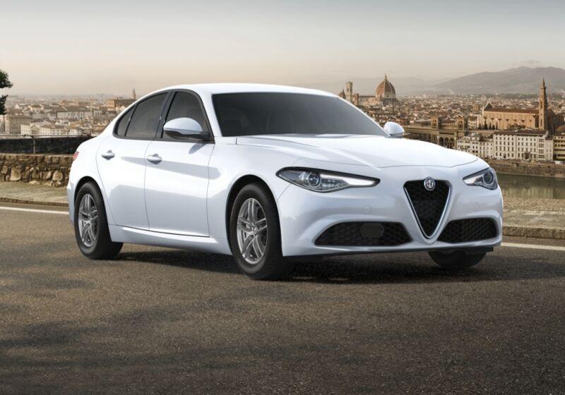 ALFA ROMEO Giulia 2.2 Turbodiesel 160 CV AT8 Business Bianco Alfa Km 0 A40B84A-56640_esterno_lato_1