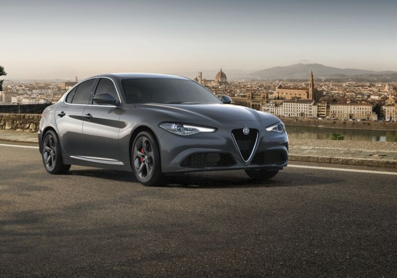 ALFA ROMEO Giulia 2.2 Turbodiesel 160 CV AT8 Executive Grigio Stromboli Km 0 SK0BRKS-g1