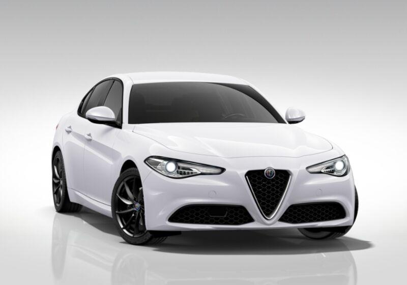 ALFA ROMEO Giulia 2.2 Turbodiesel 180 CV AT8 Sport Edition Bianco Alfa Km 0 8L0BNL8-50647_esterno_lato_1