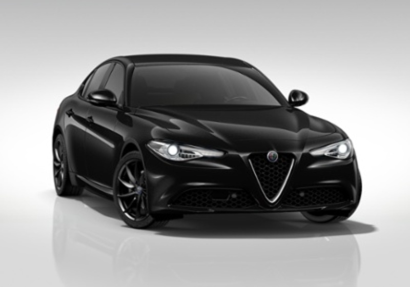 ALFA ROMEO Giulia 2.2 Turbodiesel 180CV AT8 Super Nero Vulcano Km 0 CSV0VSC-28354_esterno_lato_1
