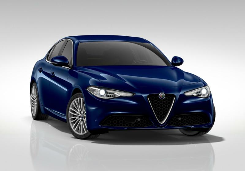 ALFA ROMEO Giulia 2.2 Turbodiesel 190 CV AT8 Executive Blu Montecarlo Km 0 0000VSS-a