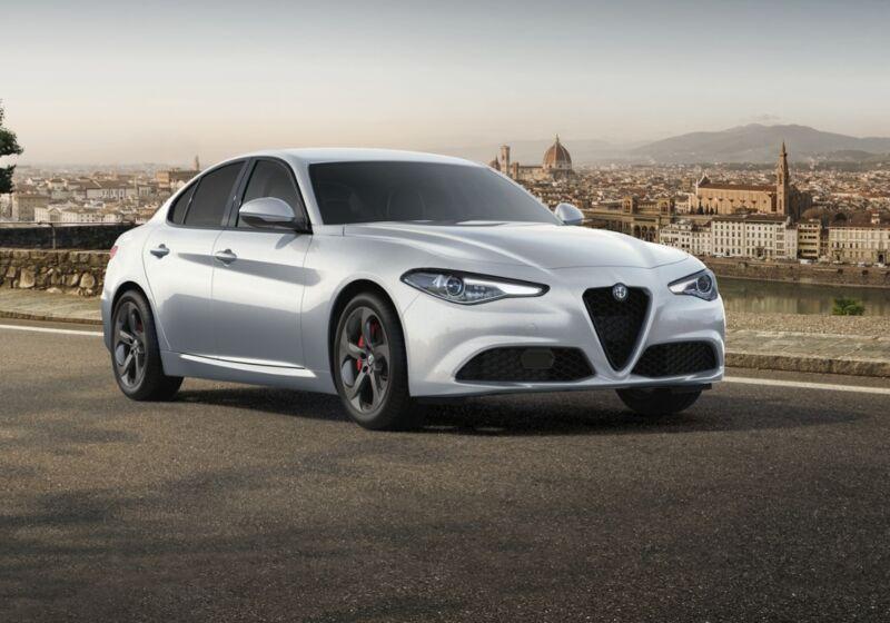 ALFA ROMEO Giulia 2.2 Turbodiesel 190 CV AT8 Sprint bianco lunare Km 0 6M0BRM6-54768_esterno_lato_1