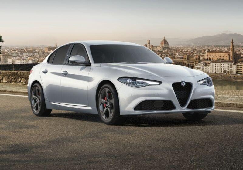 ALFA ROMEO Giulia 2.2 Turbodiesel 190 CV AT8 Sprint bianco lunare Km 0 QA0B4AQ-43028_esterno_lato_1