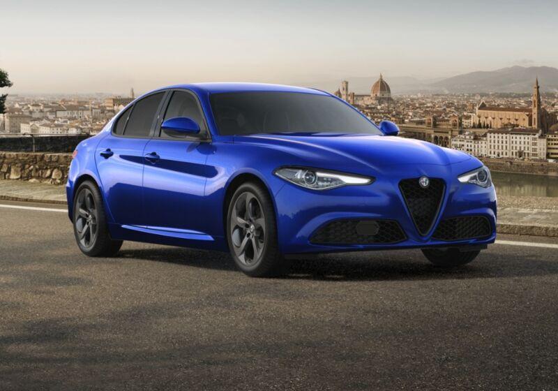 ALFA ROMEO Giulia 2.2 Turbodiesel 190 CV AT8 Sprint Blu Anodizzato Da immatricolare 9C0BZC9-64602_esterno_lato_1