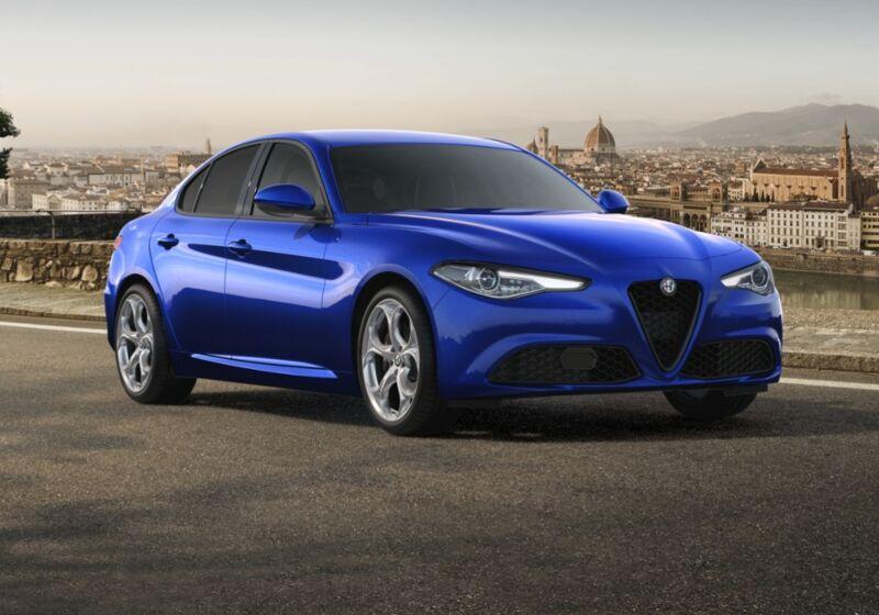ALFA ROMEO Giulia 2.2 Turbodiesel 190 CV AT8 Sprint Blu Anodizzato Km 0 LZ0CEZL-71662_esterno_lato_1