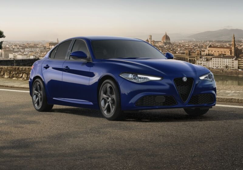 ALFA ROMEO Giulia 2.2 Turbodiesel 190 CV AT8 Sprint Blu Montecarlo Km 0 970C479-76410_esterno_lato_1