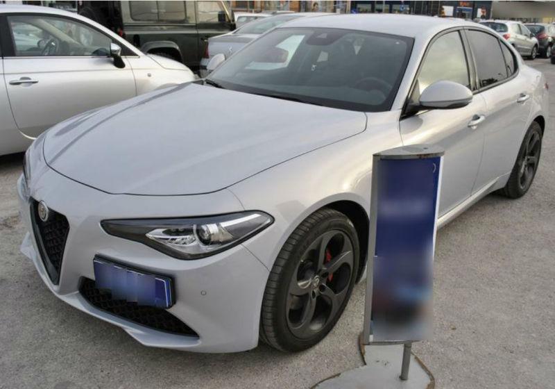 ALFA ROMEO Giulia 2.2 Turbodiesel 190 CV AT8 Sprint bianco lunare Km 0 DP0BEPD-a
