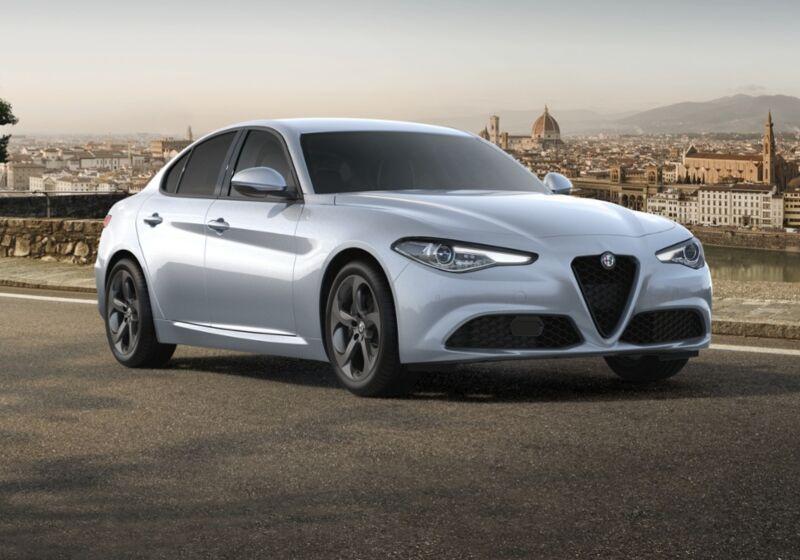 ALFA ROMEO Giulia 2.2 Turbodiesel 190 CV AT8 Sprint Grigio Silverstone  Km 0 3D0B8D3-56454_esterno_lato_1