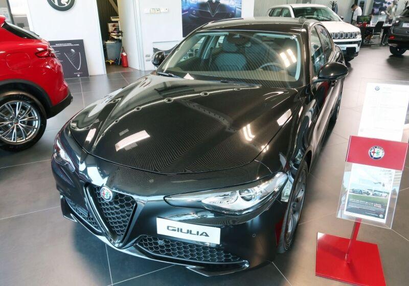 ALFA ROMEO Giulia 2.2 Turbodiesel 190 CV AT8 Sprint Nero Vulcano Km 0 5S0CFS5-a-v1