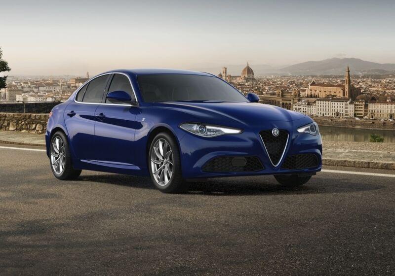 ALFA ROMEO Giulia 2.2 Turbodiesel 190 CV AT8 Ti Blu Montecarlo Da immatricolare GA0CCAG-a-v1