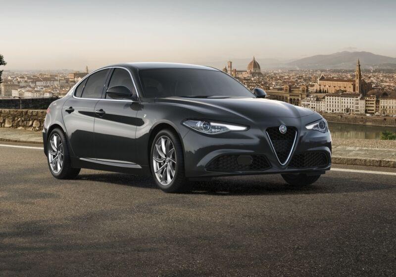 ALFA ROMEO Giulia 2.2 Turbodiesel 190 CV AT8 Ti Grigio Vesuvio Km 0 5P0BSP5-a-v1