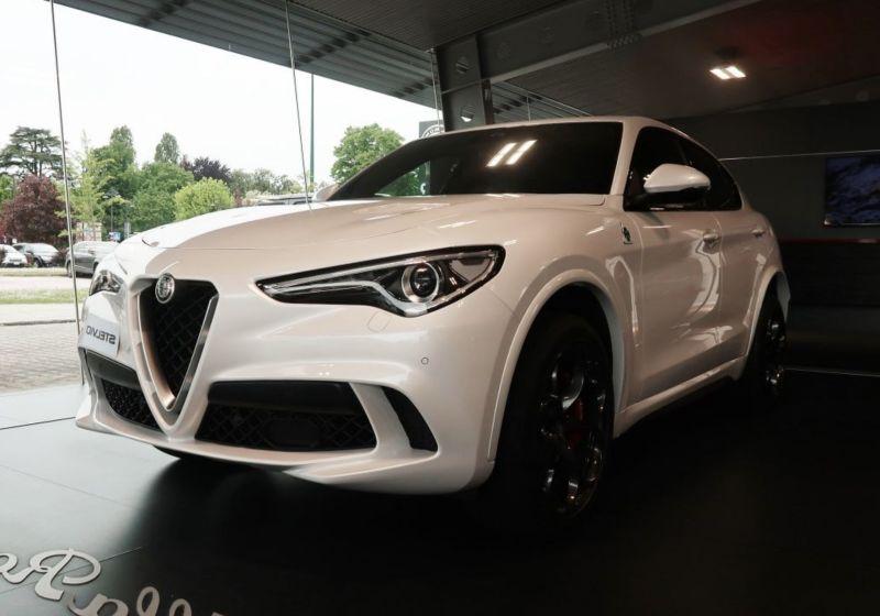 ALFA ROMEO Stelvio 2.9 bi-t V6 Quadrifoglio Q4 510cv auto Bianco Trofeo Km 0 QC0BHCQ-a