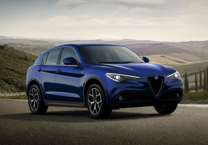 ALFA ROMEO Stelvio 2.2 t Ti Q4 190cv auto Blu Anodizzato Km 0 HD0BNDH-a